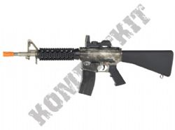 Blackwater BW15 Electric Airsoft Machine Gun Black and Smoked Official Model